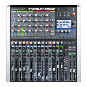 SI-PERFORMER1  Mixing desk for talking newspapers SI PERFORMER1