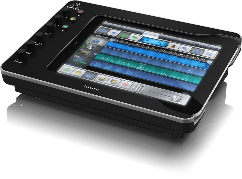ipad  Mixing desk for talking newspapers ipad