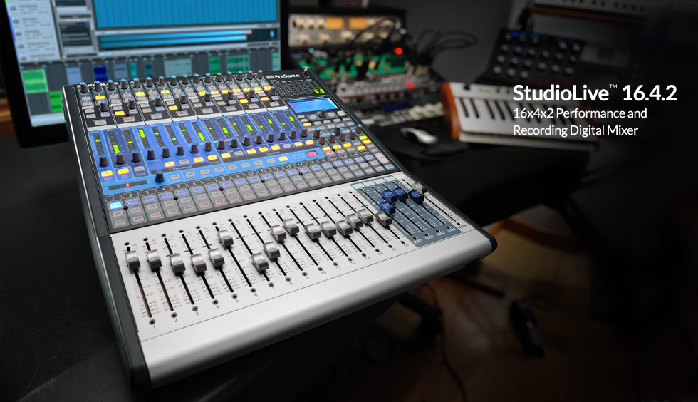 preonis stuiodlive  Mixing desk for talking newspapers preonis stuiodlive