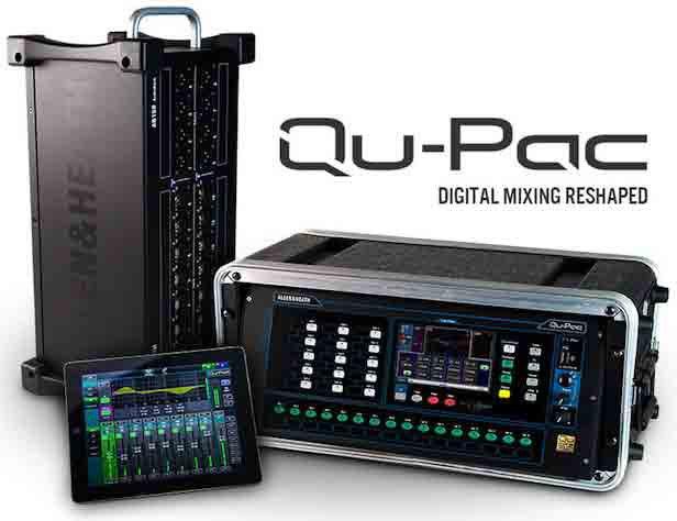 qupac  Mixing desk for talking newspapers qupac
