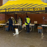 Coventry Covid Mobile testing Unit
